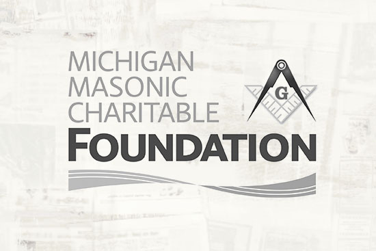Owosso #81 receives the Michigan Masonic Charitable Foundation's Tuscan-level giving award